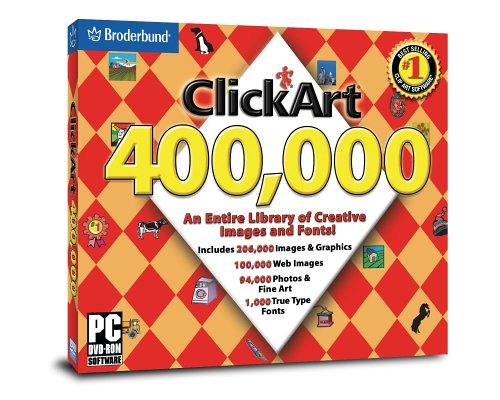 Click Art 400,000  DVD-Rom (Jewel Case) by Encore