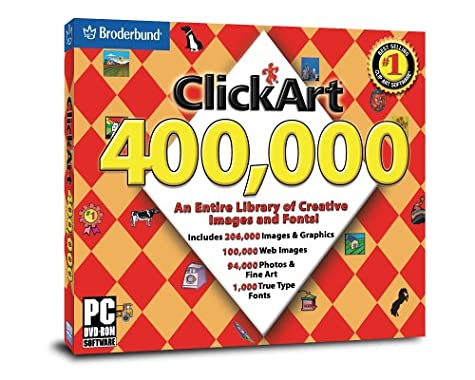 Click Art 400,000  DVD-Rom (Jewel Case) he