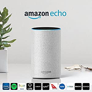 Amazon Echo (2nd generation), Sandstone Fabric