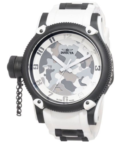 - Invicta Men's 1195 Russian Diver Collection Camo Watch