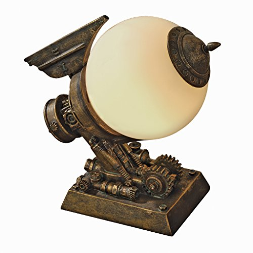 Design Toscano Steampunk Airship Illuminated Sculpture