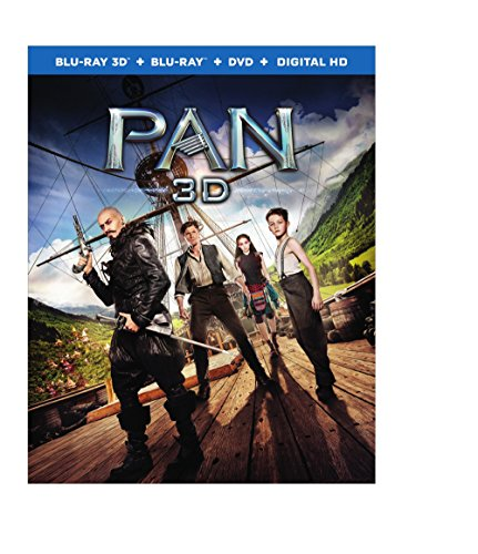Blu-ray 3D : Pan (With Blu-Ray, Ultraviolet Digital Copy, Digitally Mastered in HD, 3 Disc)