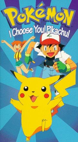 Pokémon: Vol. 1: I Choose You! Pikachu! [USA] [VHS]: Amazon ...