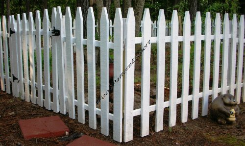 GARDEN FENCE Paper Plans SO EASY BEGINNERS LOOK LIKE EXPERTS Build Your Own CIVIL WAR PICKET STYLE Using This Step By Step DIY Patterns by WoodPatternExpert