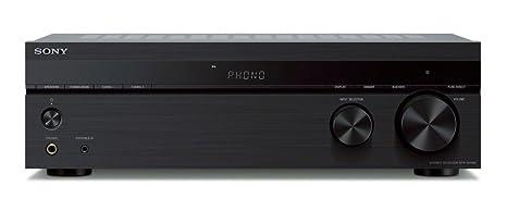 Sony STR-DH190 - Receptor estéreo (Bluetooth, Entrada Phono, Compatible con Tocadiscos), Color Negro