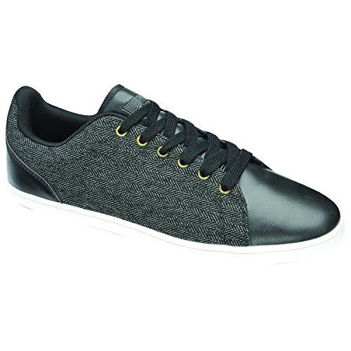Lonsdale Heren Redwood Tweed Sneakers / Gympen Tan / Off White
