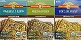 Doctor Kracker Organic Crispbreads Variety Pack, 3 Flavors, 7-ounces each (Pack of 3)