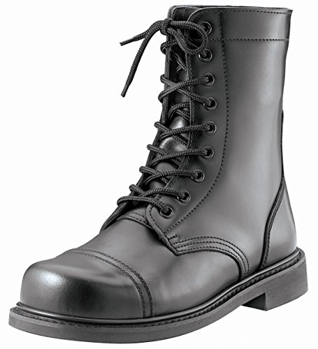 Rothco 9'' GI Type Combat Boot, Black, 8.5 ()