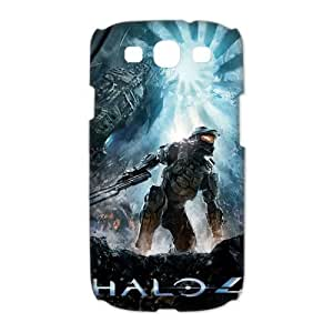 Custom Designer Science Fiction Video Game Halo Master Chief Personalized SamSung Galaxy S3 I9300/I9308/I939 Case 3D