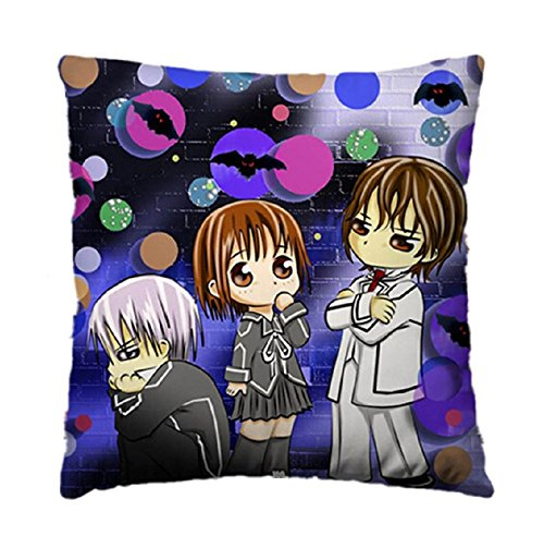 Siawasey Anime Vampire Knight Cartoon Pillow Cushion Double-sided 45cm*45cm(P# 06)