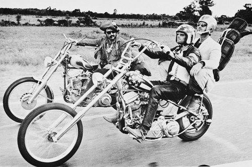 Easy Rider Peter Fonda Dennis Hopper 24X36 Poster Silverscreen