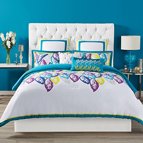 Christian Siriano Plume Comforter 3 Piece Set (King) by Christian Siriano