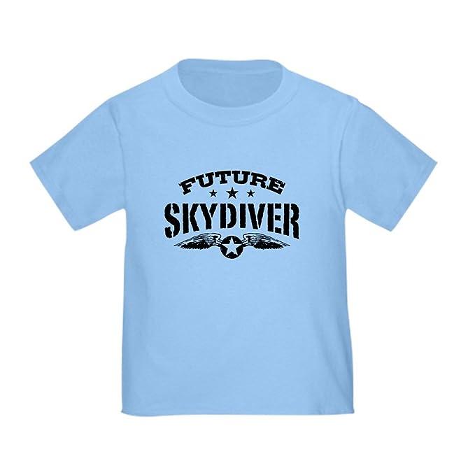 90a9e3de4 Amazon.com: CafePress Future Skydiver Toddler T-Shirt Toddler Tshirt ...