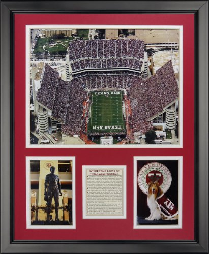 - Legends Never Die Texas A&M Aggies - Kyle Field Framed Photo Collage, 16