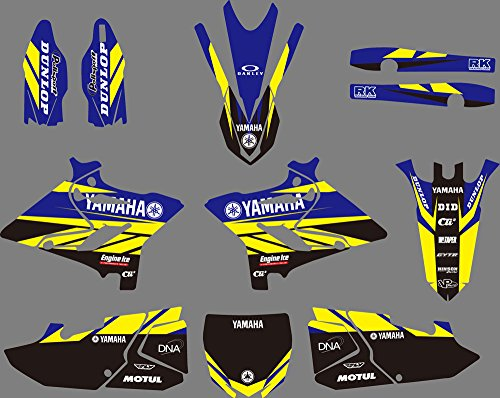 DST0627 Customized 3M Sticker Motorcross Graphic Motorcycle Decals Stickers Kit Graphics set for Yamaha YZ125/YZ250/X 2015 2016 2017 2018 -