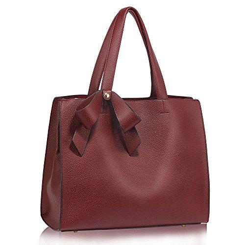 ANNA GRACE - Bolsa Mujer Design 1 : Burgundy