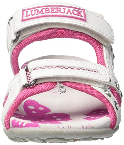 Lumberjack Linda - Tacones Niñas Rosa (Fuxia)