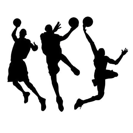 Winhappyhome Equipo de baloncesto etiqueta de la pared de fondo ...