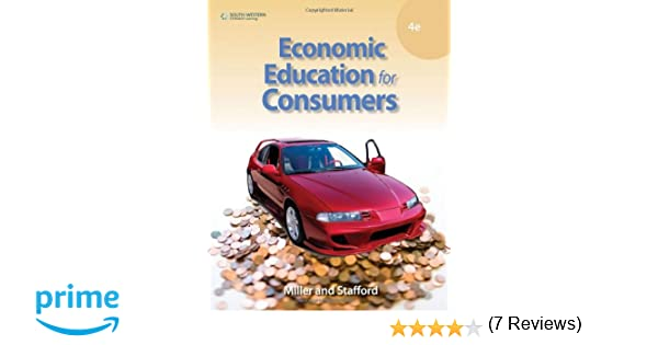 Economic Education for Consumers: 9780538448888: Economics Books ...