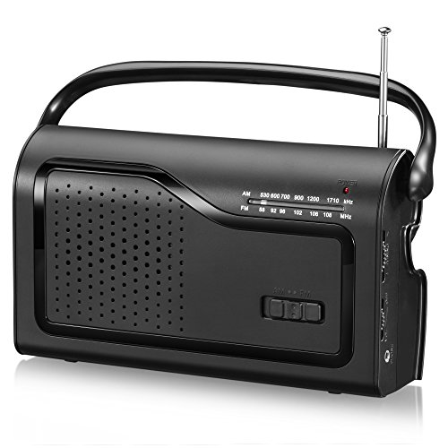 OnLyee AM/FM Portable Radio - Am Fm Cd Desk Radio