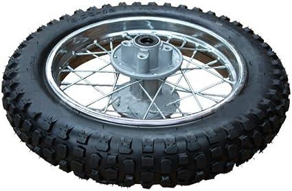 X-PRO 10 Front Wheel Rim Tire Assembly for 50cc 70cc 110cc Dirt Bikes