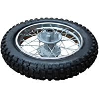 X-PRO 12″ Rear Wheel Rim Tire Assembly for 70cc-125cc Dirt Bikes
