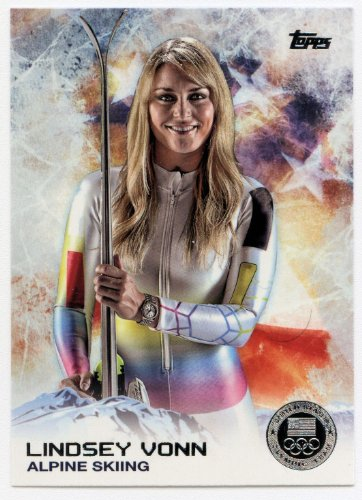 2014 Topps USA Winter Olympic Team Complete Mint 100 Card Set Hand Collated Set Including Gretchen Bleiler, John Daly, Shani Davis, Bode Miller, Hannah Teter, Lindsey Vonn, Ashley Wagner and Many Others ()