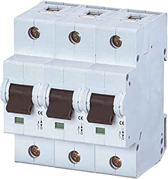 EATON AZ-3-C20 Interruptor Magnetotérmico AZ, 20A, 3P, Curva C, Caja de 4: Amazon.es: Industria, empresas y ciencia