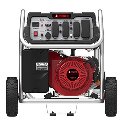 A Ipower Sua12000e 12 000 Watt Gasoline Powered Generator