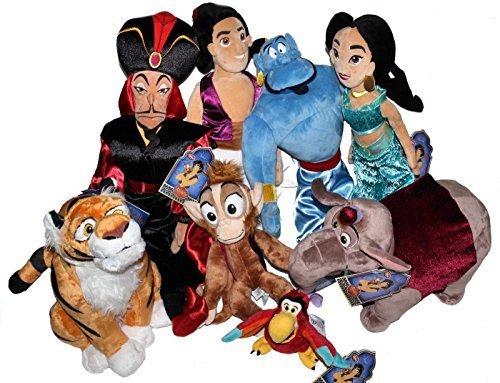 Galleon 2015 Disney Store Plush Aladdin Jasmine Rajah Genie