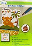 Baby Lion King 'Sweet Circle of Life' Invitations w/ Envelopes (8ct)