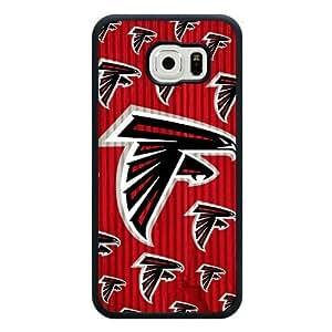 Samsung Galaxy S6 Case, Customized NFL Atlanta Falcons Logo Black Soft Rubber TPU Samsung Galaxy S6 Case, Atlanta Falcons Logo Galaxy S6 Case(Not Fit for Galaxy S6 Edge) hjbrhga1544