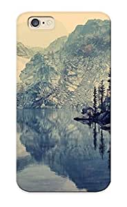 8a35cb8527 Tough Iphone 6 Case Cover/ Case For Iphone 6(glacier Lake ) / New Year's Day's Gift