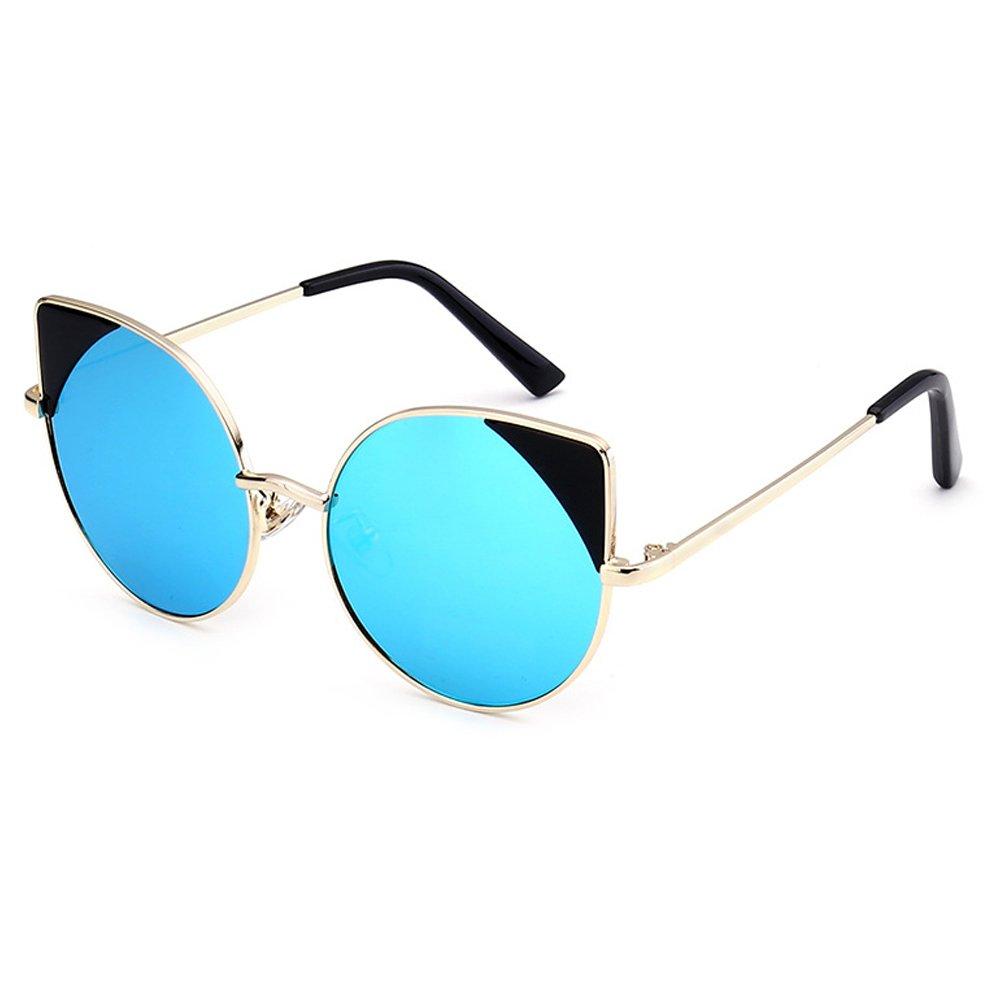Fantia Cat Ears Children Sunglasses Cat's Eye Kids Eyewear Age 6-12 (E)