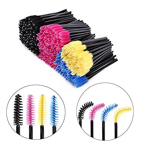 (200~500 pcs) Disposable Mascara Wand Brush Eyelash Extension Applicators/ Makeup tools (500 PCS) Haiteng group corp