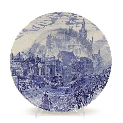- London Town by English Ironstone Tab. Ltd., Ironstone Rim Soup Bowl