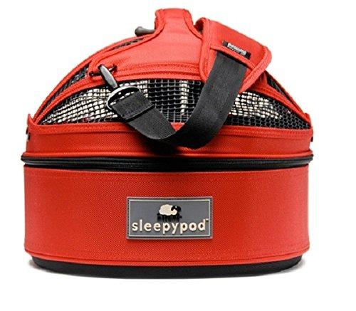 (Sleepypod Mini Pet Bed Dog or Cat Traveler Carrier STRAWBERRY RED )
