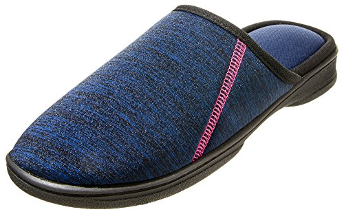 Sport Women's 5 10 Blue Clog 9 X ISOTONER Heather Navy Large Tech Drew dtqP4CPw