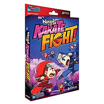 Karate Fight Ninja All Stars Edition Board Game: Amazon.es ...