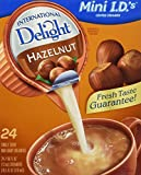 International Delight Non-Dairy Hazelnut, 24 Count .44OZ, Single-Serve Coffee Creamers