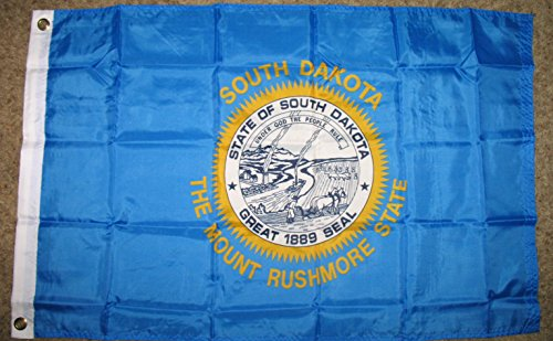 South Dakota State Flag 2'x3' USA Polyester Banner