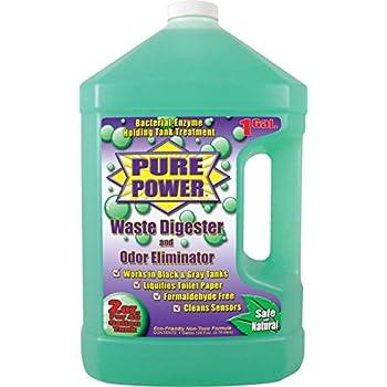Valterra V22128 'Pure Power' Waste Digester and Odor Eliminator - 128 oz. Bottle
