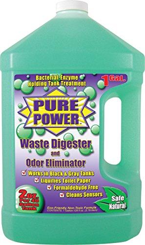 Waste Digester (Valterra V22128 'Pure Power' Waste Digester and Odor Eliminator - 128 oz. Bottle)