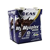 EAS Myoplex RTD Dark Chocolate, 4 Count