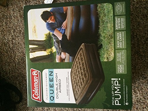 Coleman Flocked Quickbed Double Airbed