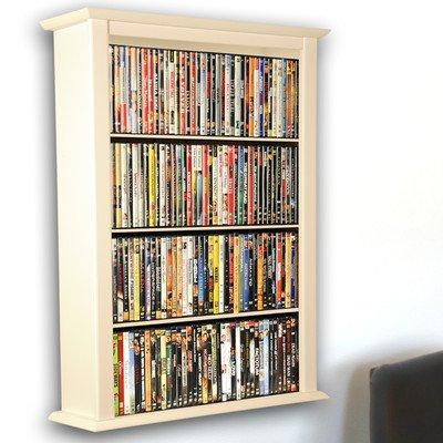 VHZ Entertainment Single Wall Mounted Storage Rack Finish: White