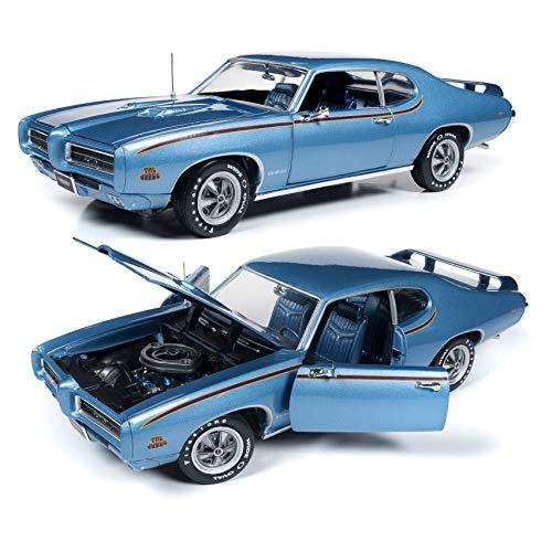(AMM1171 American Muscle 1969 Pontiac GTO Judge (MCACN) 1:18 Scale Diecast Model)