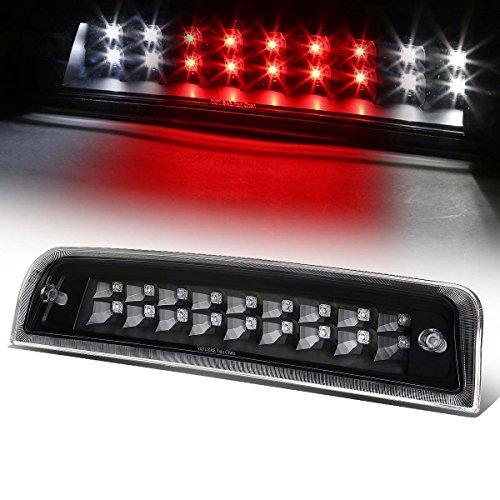 For Dodge Ram Truck DS/DJ High Mount Dual Row LED 3rd Brake/Reverse Light (Black Housing Clear Lens)