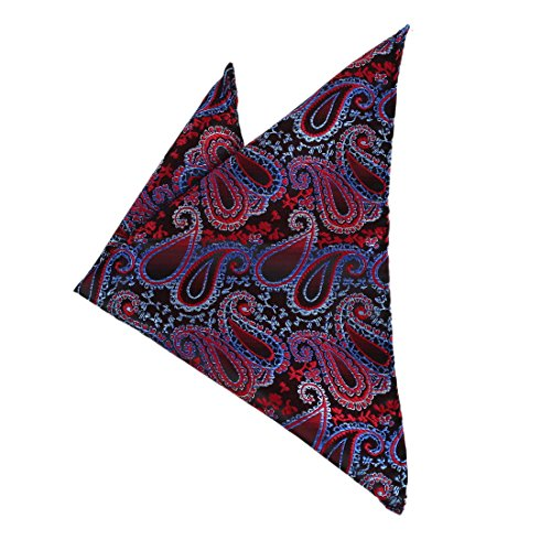 DEE7B20C Fashion Red Patterned Happy Chirstmax Day Microfiber Hanky Oktoberfest Presents Idea New Year'S Day For Mens Set By Dan Smith