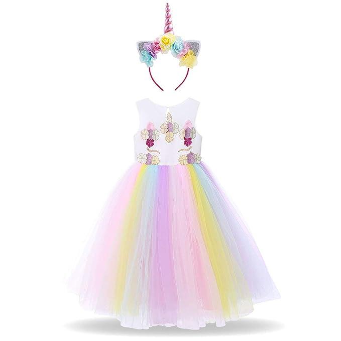 Amazon.com: Vestido de tutú con diseño de flor pastel ...